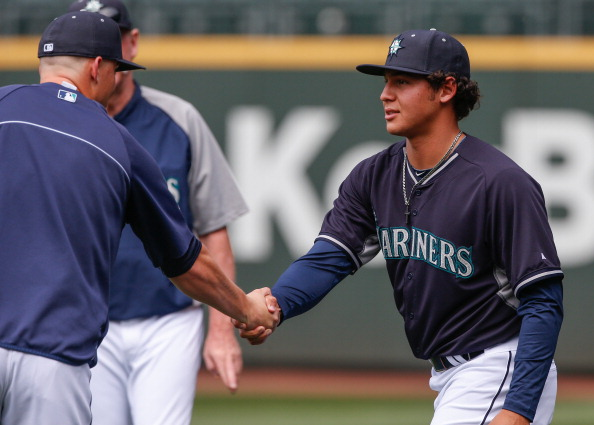 Jackson With Mariners